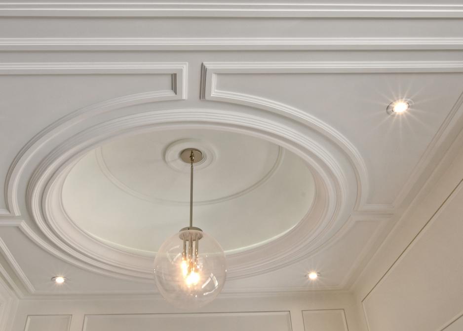 decorative Victorian traditional plaster molding – cornice restoration