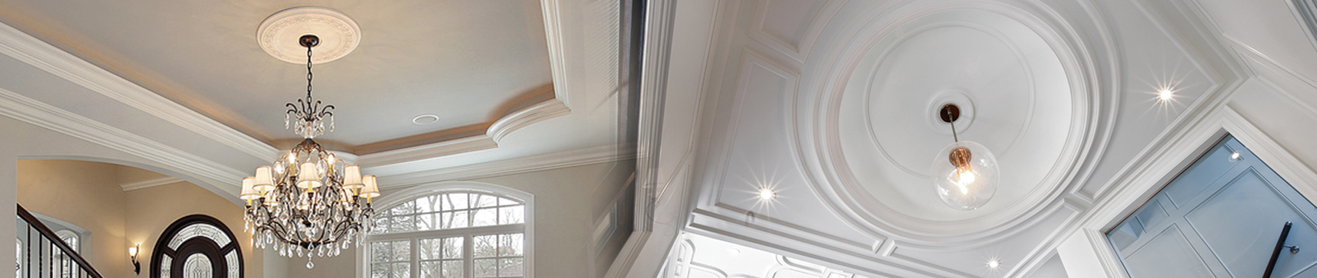 Crown Moulding, Ceiling Medallion