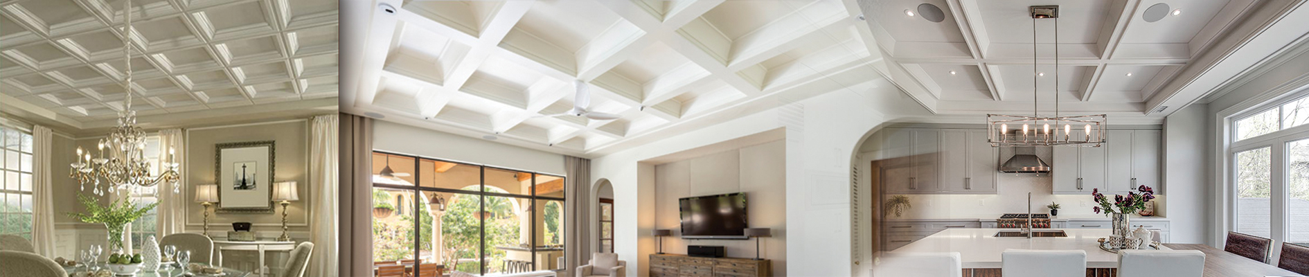 Waffle Ceiling, Coffered Ceiling